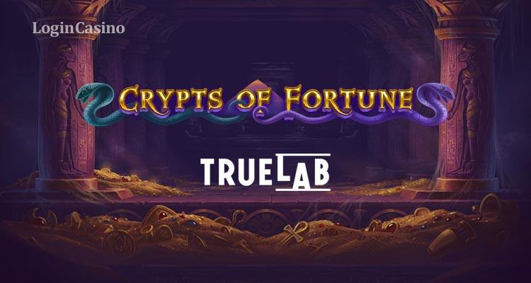 Мистическая история древних фараонов в новом слоте Crypts of Fortune от True Lab
